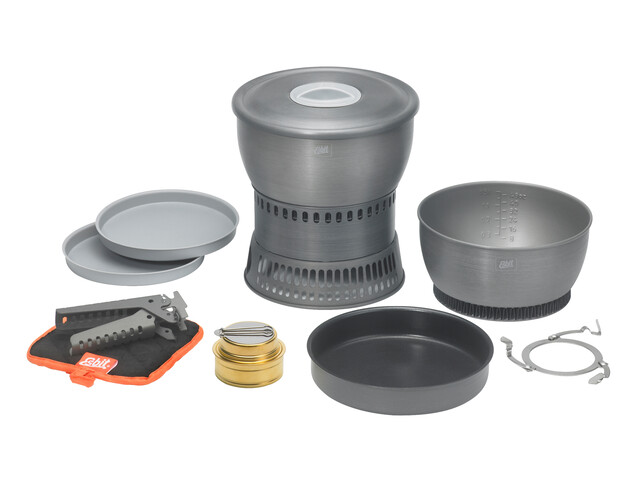 Esbit Spirit cooking set CS2350WN Camping Stove grey